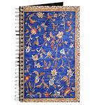 Blue Floral Oriental Carpet Journal