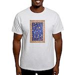 Blue Floral Oriental Carpet T-Shirt