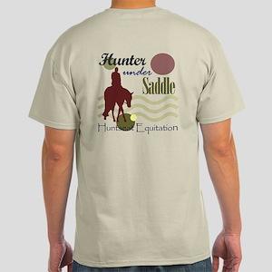 Hunter in maroon Light T-Shirt
