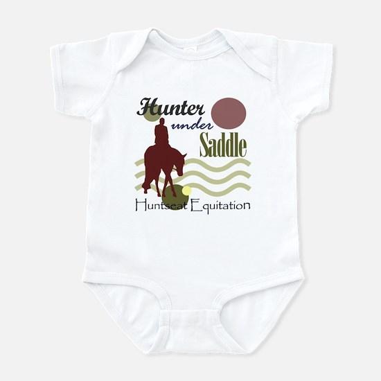 Hunter in maroon Infant Bodysuit