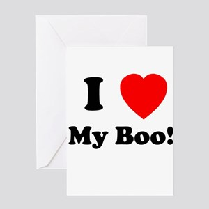 My Boo Greeting Cards