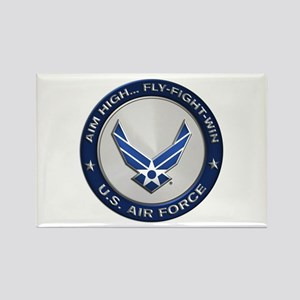 USAF Motto Aim High Magnets