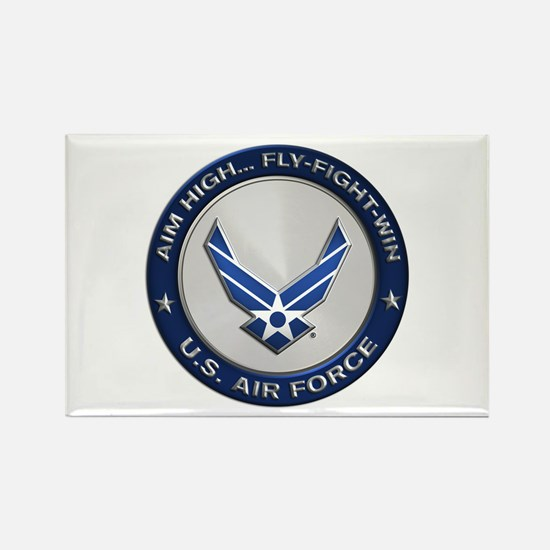 USAF Motto Aim High Magnets