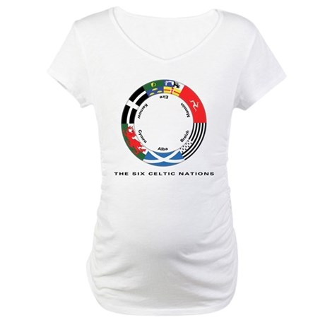 Celtic Nations Maternity T-Shirt