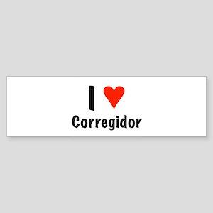 I love Corregidor Bumper Sticker