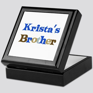 Krista's Brother Keepsake Box