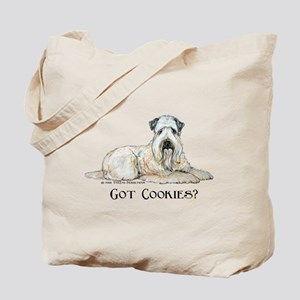 Wheaten Terriers Cookie Dogs Tote Bag