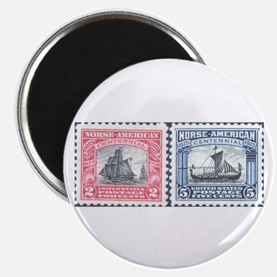 "Unique Stamped 2.25"" Magnet (10 pack)"