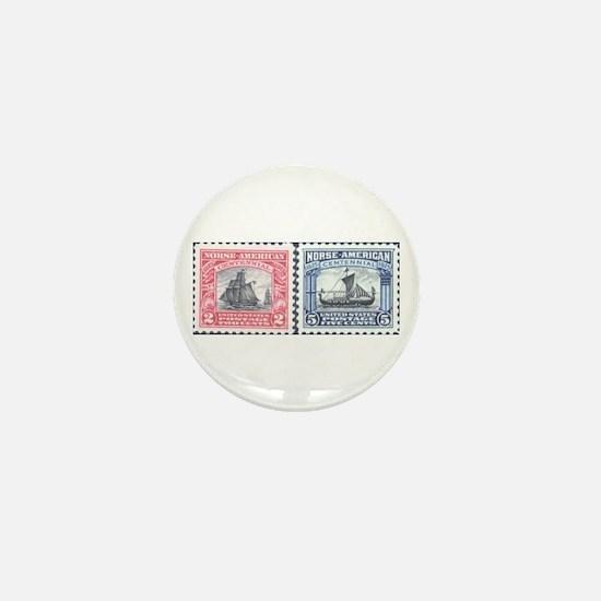 Cute Norge Mini Button