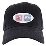 Norway stamps Baseball Cap with Patch