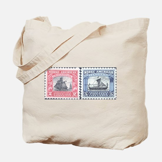 Cute Collectible stamps Tote Bag