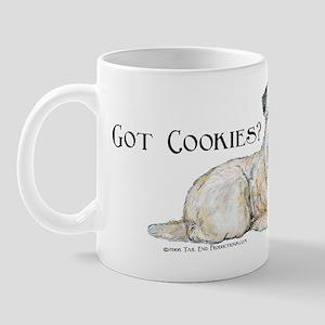 Wheaten Terriers Cookie Dogs Mug