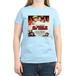 New Orleans Flame Movie Poste Women's Light T-Shir