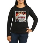 New Orleans Flame Movie Poste Women's Long Sleeve