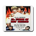 New Orleans Flame Movie Poste Mousepad