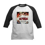 New Orleans Flame Movie Poste Kids Baseball Jersey