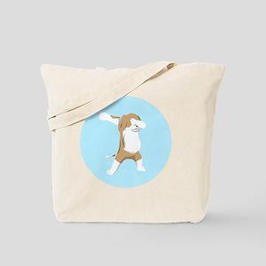 Dabbing Beagle Dog Lover T Shirt Tote Bag