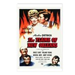 New Orleans Flame Movie Poste Postcards (Package o