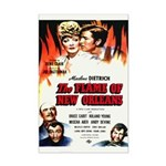 New Orleans Flame Movie Poste Mini Poster Print