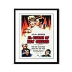 New Orleans Flame Movie Poste Framed Panel Print