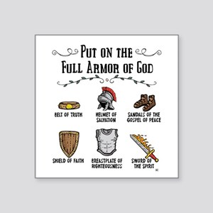 Armor Of God Sticker