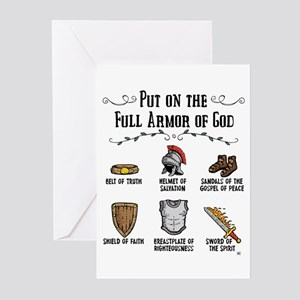 Armor Of God Greeting Cards