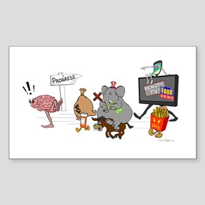 Brain Drain Sticker
