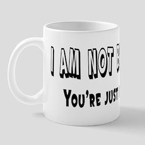 I'm Not Rude Mug