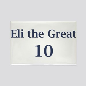 "Eli Manning ""Eli the Great"" Rectangle Magnet"