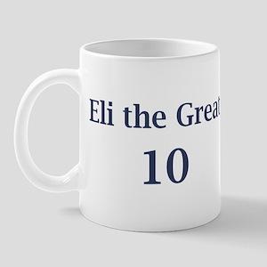 """Eli Manning """"Eli the Great"""" Mug"""