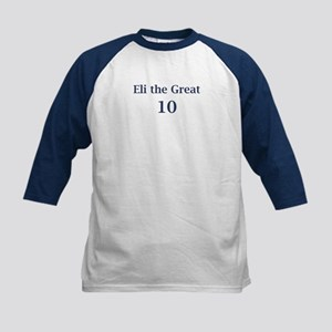 "Eli Manning ""Eli the Great"" Kids Baseball Jersey"