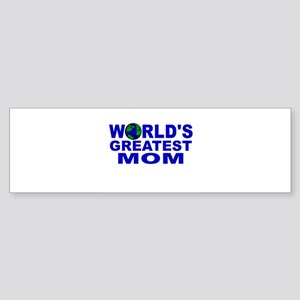 World's Greatest Mom Bumper Sticker