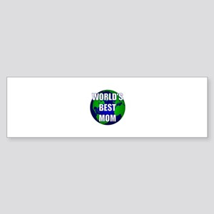 World's Best Mom Bumper Sticker
