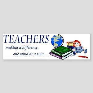 Teachers Making a Difference Bumper Sticker