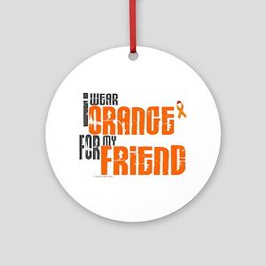 I Wear Orange For My Friend 6 Ornament (Round)