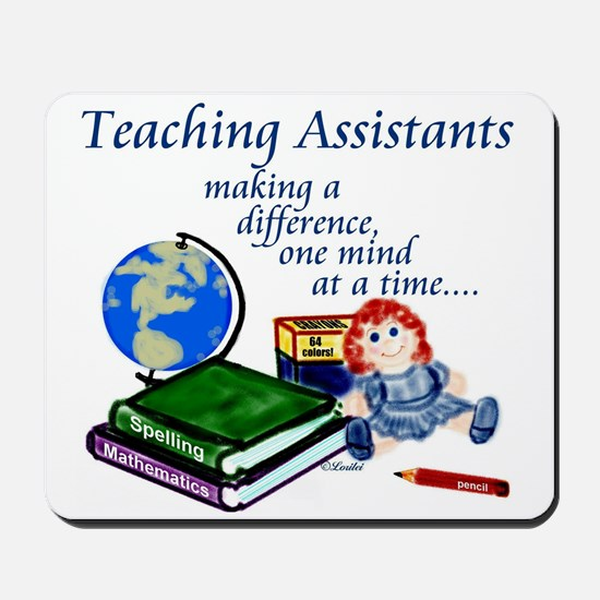 Teaching Assistant Mousepad