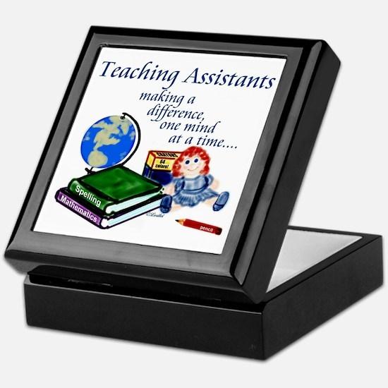 Teaching Assistant Keepsake Box