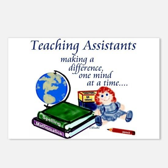 Teaching Assistant Postcards (Pkg 8)