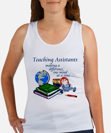 Teachers Assistant Women's Tank Top