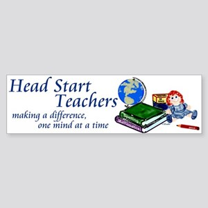 Head Start Bumper Sticker
