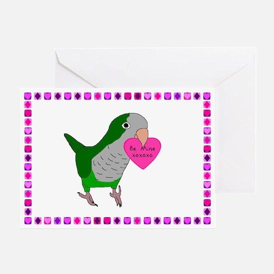 Quaker Parakeet Valentine