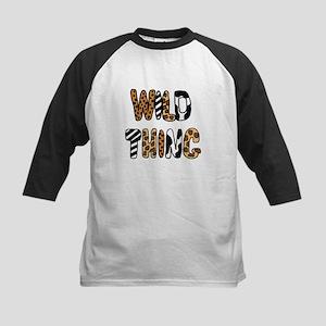 Cool Wild Thing Print Baseball Jersey