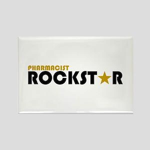 Pharmacist Rockstar 2 Rectangle Magnet
