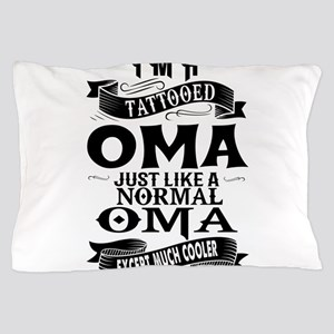 TATTOOED OMA Pillow Case