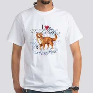 Toller White T-Shirt