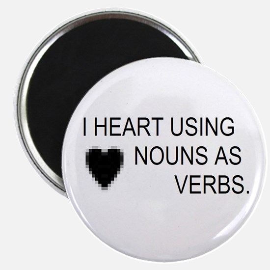 Cute Verbs Magnet