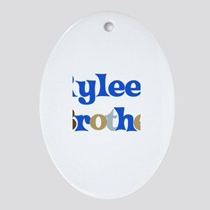 Rylee's Brother Oval Ornament