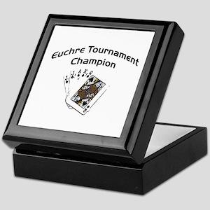 Euchre Tournament Keepsake Box