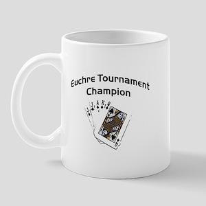 Euchre Tournament Mug