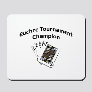 Euchre Tournament Mousepad